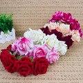 Trendy Rose Headband Meninas Hairband Boêmio Flor Coroa Tiara Headwear Floral