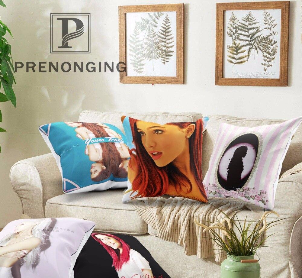 Benutzerdefinierte Dekorative Kissenbezug Ariana Grande At 01 Platz