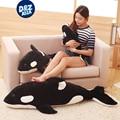 Almohada muñeca ballena orca Orcinus orca ballena tiburón de peluche de juguete muñeca blanco y negro niños niños niñas juguetes blandos