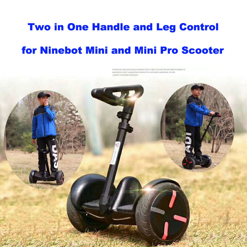 Xiaomi Scooter Handle 2 in 1 Handle and Leg Control Rod Adjustable Hand Control Extension Handrail for Xiaomi Mini Pro Scooter adjustable scooter handle handrail hand control for xiaomi ninebot