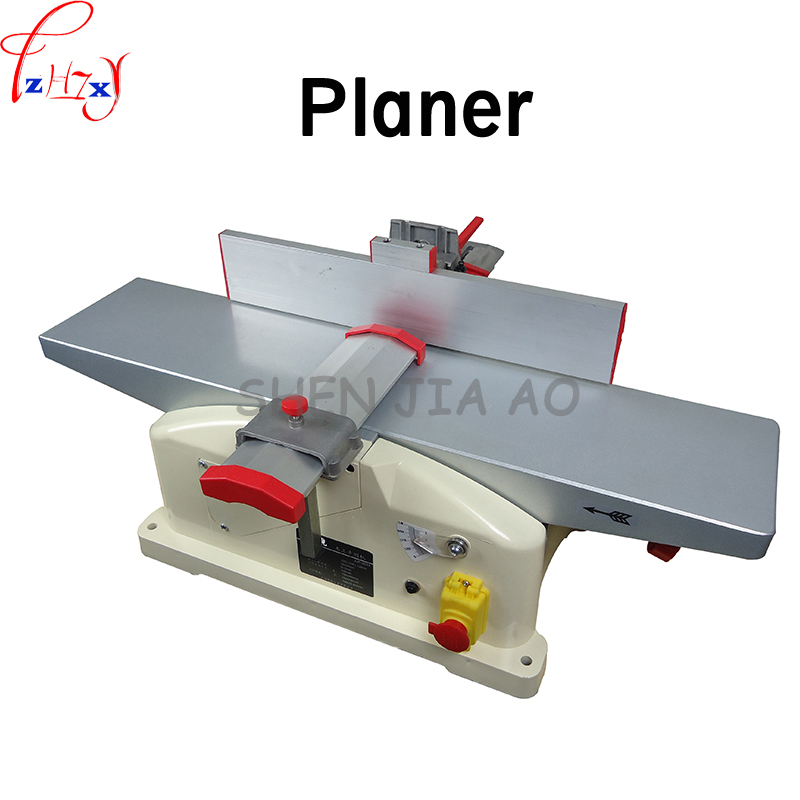 Household desktop woodworking planer machine multi-functional DIY electric planer wood planing machine 220V 1PC polo t shirt adze polo t shirt