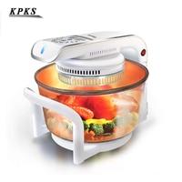 multifunctional microwave oven frying pan halogen oven air fryer lightwave fryer automatic cooker CKY 888