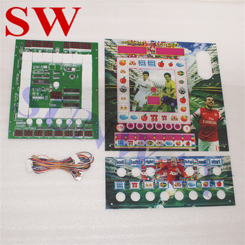 1pcs New Mario Game PCB for wolf 2/Casino/Slot Game Board with Jamma Wiring / Animal and Fruit Acrylic for Arcade Game Machine