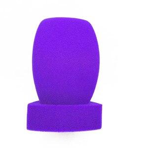 Image 2 - Linhuipd najwyższej klasy wywiad mikrofony przednia szyba z pianki ręczny przedniej szyby mic obejmuje