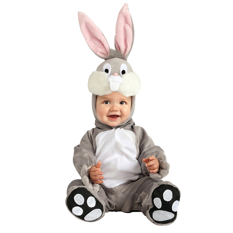 Christmas Xmas Halloween Baby Boys Girls Costume Infant Rompers Bunny Anime Cosplay Rabbit Newborn Toddlers Clothing