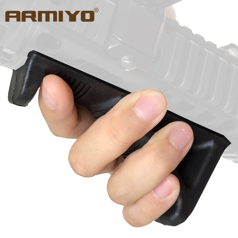 Armiyo Tactical ARMAFG2 2nd Gen Toy Gun Grip Holder Fore Angled Handle 20mm Rail Shooting Hunting Accessories