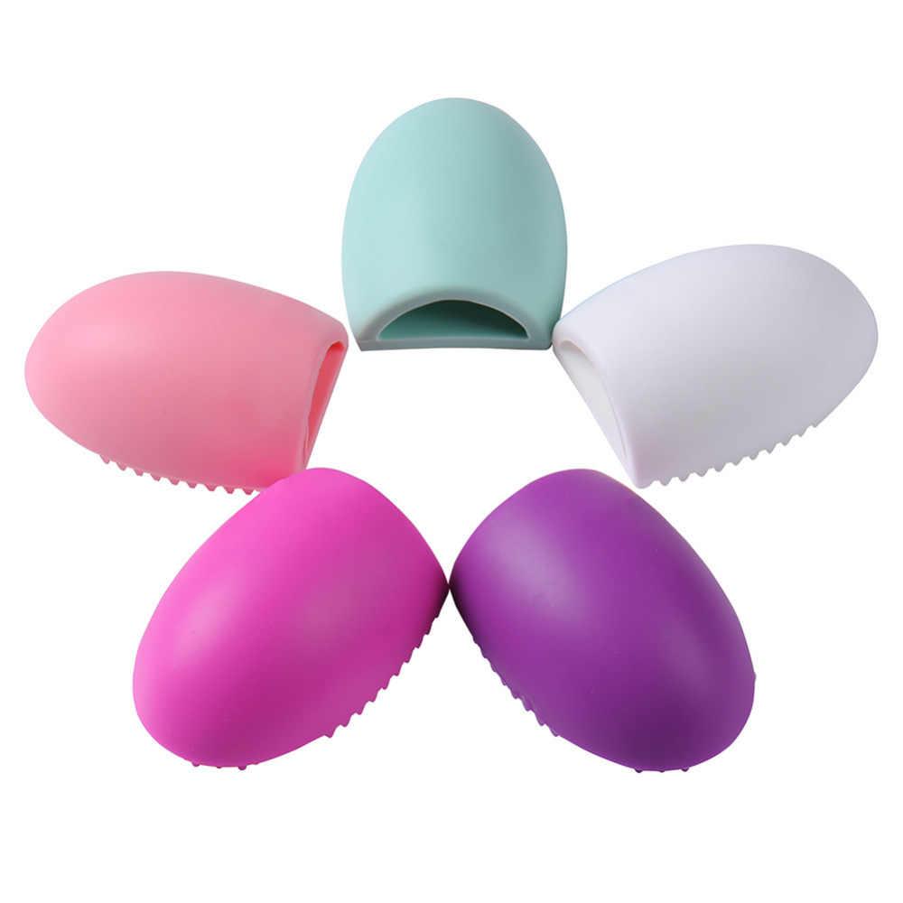 Silikonowe makijaż szczotka do czyszczenia narzędzi do mycia kosmetyki do makijażu pędzle do Płyta do szorowania mycia kosmetyczne szczotka do narzędzie do czyszczenia