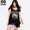 XXL Tanks Women Sleeveless Top Large Size Clothes Ladies Casual Loose Tank Top Letter Plus Free Size Leisure Vintage Print