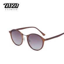 20 20 Brand New Women Sunglasses Men Mirror Polarized Driving Travel Unisex Round Glasses Brand Eyewear