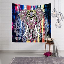 Home Furniture Mandala Tapestry Tapestry Bohemian Sand Beach Play Blanket Picnic Rug Camping Tent Travel Sleeping CushionT0003(China)
