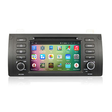 "7 ""Android 5.1.1 4 ядра стерео аудио Авторадио автомагнитол головного устройства для BMW 5 серии E53 E39 M5 X5 3G WI-FI DVR OBDII"