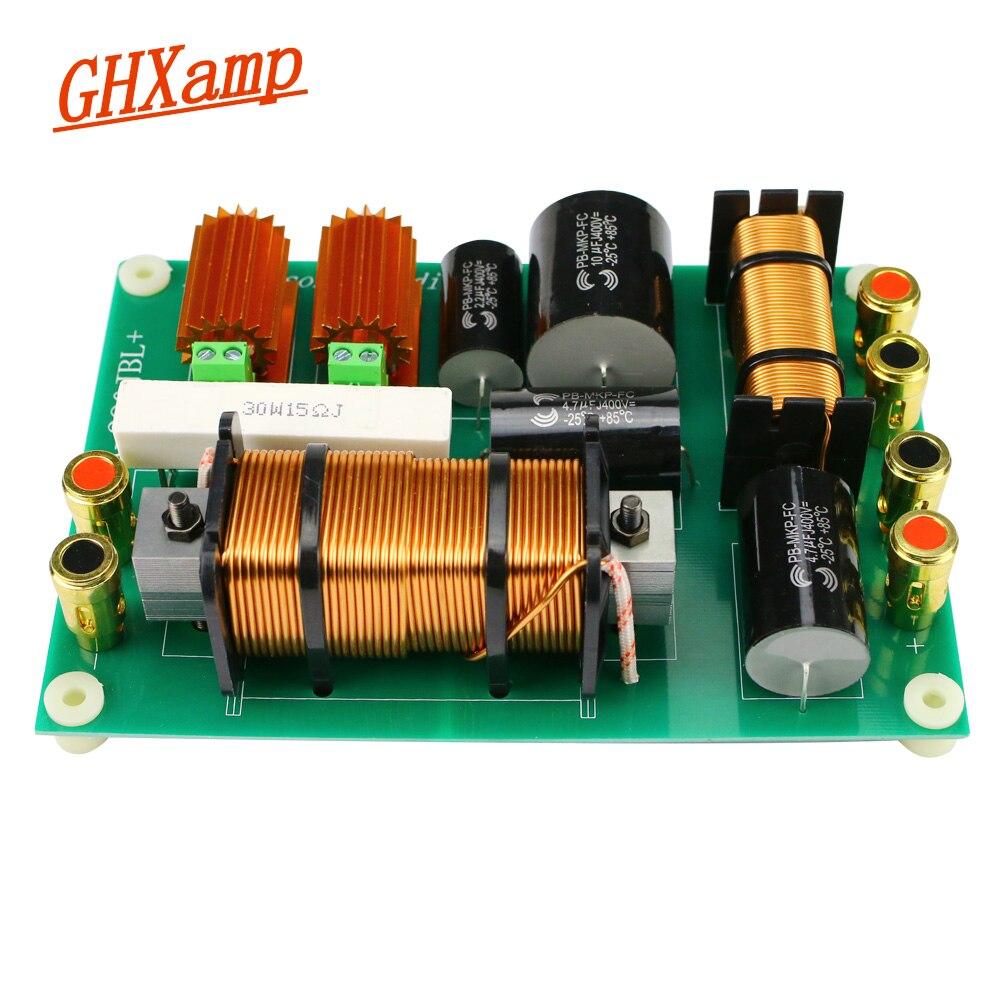 GHXAMP 800 W Tweeter Woofer haut-parleur 2 voies Crossover 2500Hz PA-280 aigus graves diviseur pour 15 pouces professionnel scène haut-parleur 1 PC
