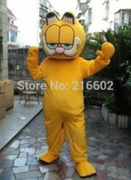 High quality Garfield Mascot costume Adult size Garfield Mascot costume for Halloween party Free shipping
