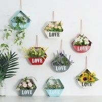 MoeTron Flores Artificiais Falsos Baratos Flores de Decoração Para Casa Decoração Da Parede de Girassol Caixa de Flor
