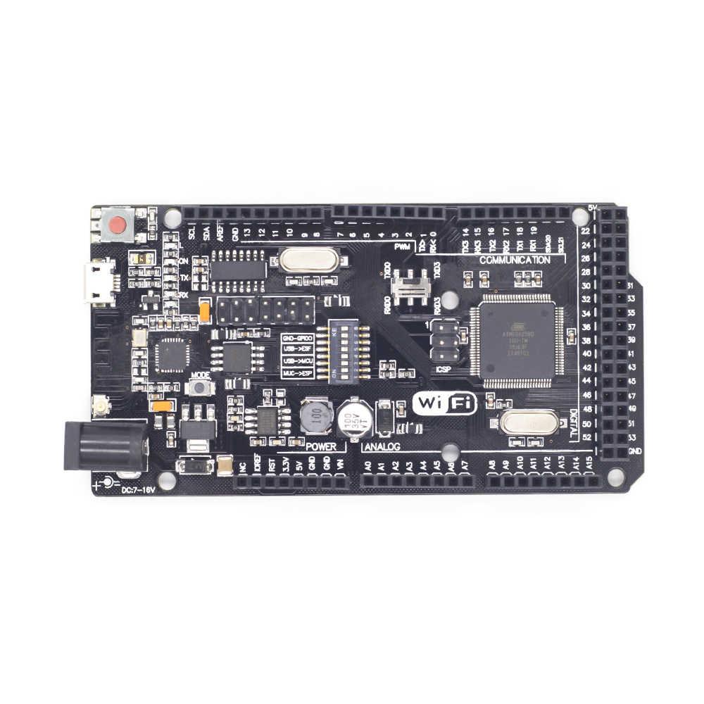 ESP8266 CH340G NodeMcu لوا V3 ESP8266 CP2102 NodeMcu لوا V2 وحدة لاسلكية WIFI R3 ATMEGA2560 /ATmega328P