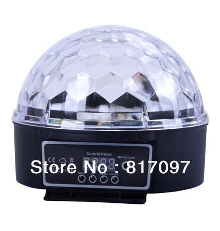 Vente Effets Lumieres 18 W Boule Magique Projecteurs LED Effets 6 couleurs Sonner Automatique DMX Maitre-Esclave Eloigne