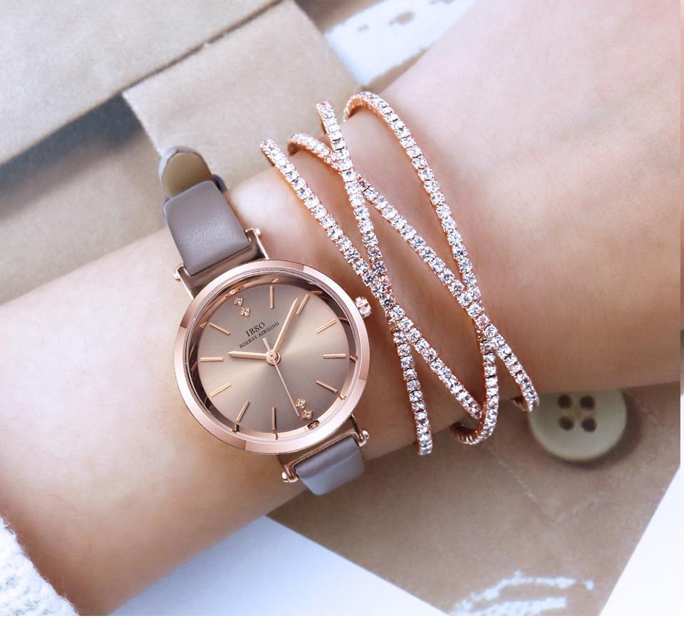 alta qualidade relógio de quartzo de luxo
