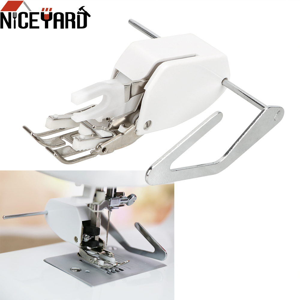 NICEYARD Walking Even Feed Quilting Presser Foot For Apparel Sewing Fabric For Low Shank Sewing Machine