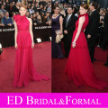 Emma Stone Oscar Dress High Neck Celebrity Red Carpet Dress Evening Prom