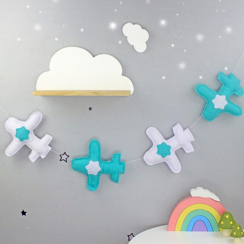 1 M Nordic Kid Baby Zimmer Garn Und Bead Garland Hängen Mit Quaste Perle Decor Requisiten Für Kinder Room Beste Geschenk Geben Zelt Ornament