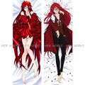 Black Butler Sebastian Michaelis Grell Sutcliff Anime Male BL Big Hugging Body Pillow Cover Case