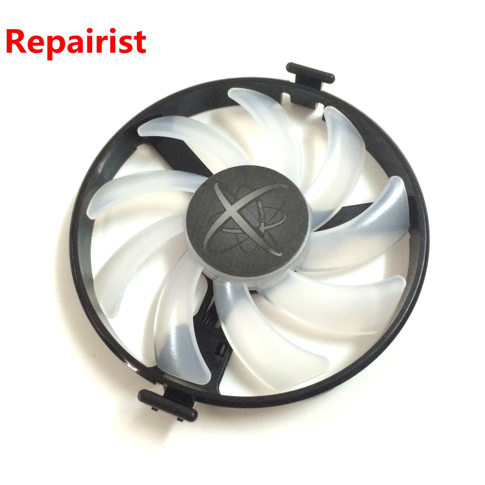 RX400 GPU Cooler RX470 RX480 Graphics Card Fan VGA Cards blower For XFX RX 470/480 Video card cooling computer video card cooling fan gpu vga cooler as replacement for asus r9 fury 4g 4096 strix graphics card cooling