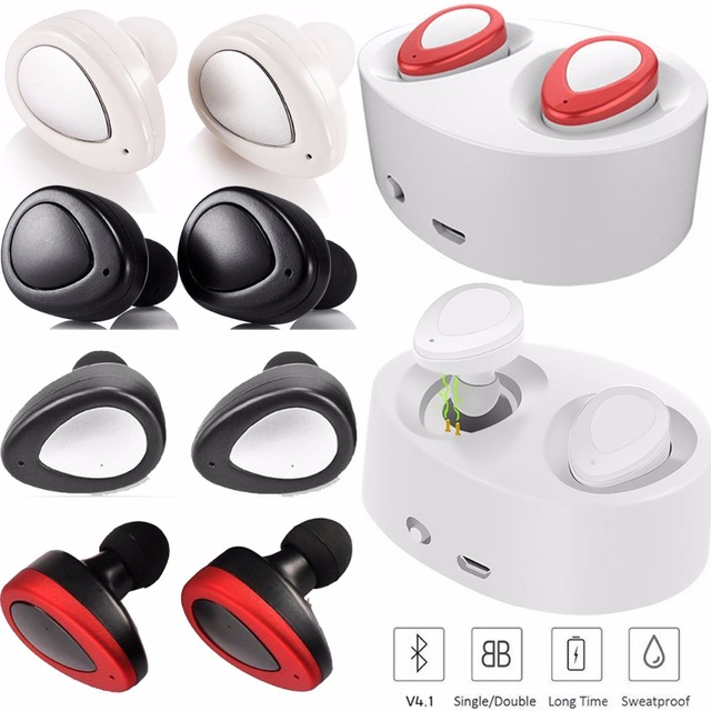 f90fb79132d TWS True Wireless Stereo Headphone Bluetooth Headset Mini Earphones Double  Earbuds For Samsung Apple iPhone Motorola LG Huawei