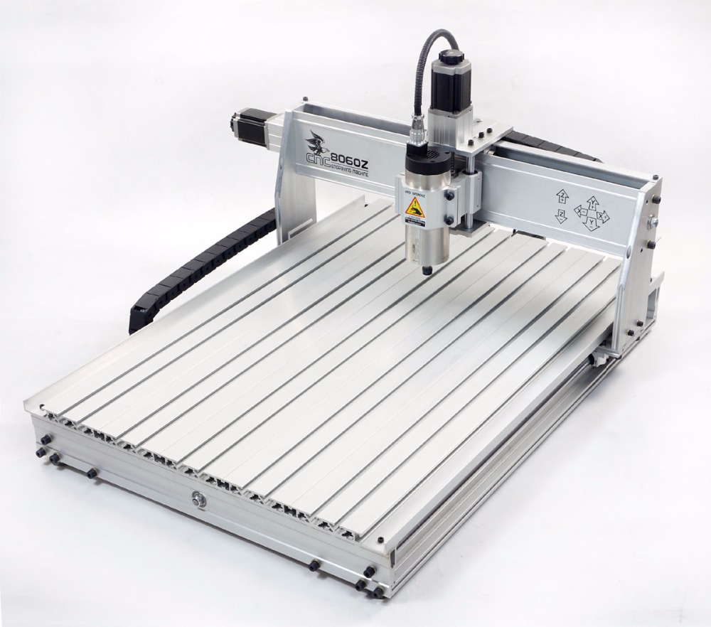 3 axis 8060 2200W cnc router engraving milling cutting machine engraver USB
