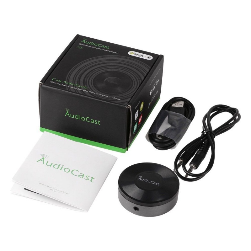 Audiocast M5 Wifi Muisc Speaker DLNA Airplay Adapter Wireless Music Streamer Receiver Audio & Music to Speaker System meileiya синий xl