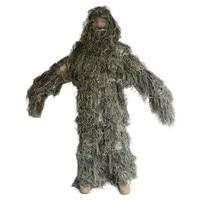 Woodland CAMO selva tarctical kit traje Ghillie Militar camuflaje durable francotirador ropa táctica para Caza
