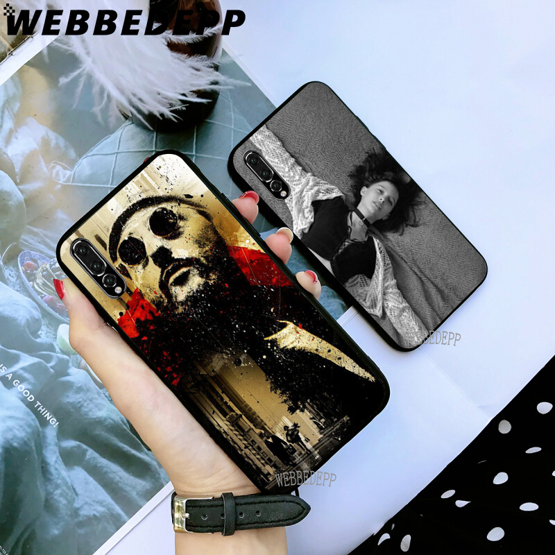 WEBBEDEPP Leon Matilda Soft TPU Case for Huawei Y6 Y7 Prime Y9 Mate 10 20 Lite Pro Nova 2i 3i 4 in Fitted Cases from Cellphones Telecommunications