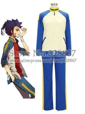 Inazuma.Eleven.Go Anime Cosplay Footbal Jersey For Winter