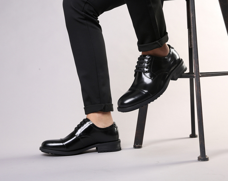 ECCO Brand New Arrival Fashion Men Shoes Party and Wedding Men Dress Shoes Black Formal Male Oxford Shoes 623535 3