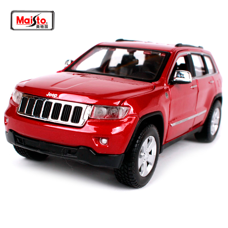 Maisto 1:24 Jeep Grand Cherokee SUV Diecast Model Car Toy New In Box Free Shipping 31205Maisto 1:24 Jeep Grand Cherokee SUV Diecast Model Car Toy New In Box Free Shipping 31205