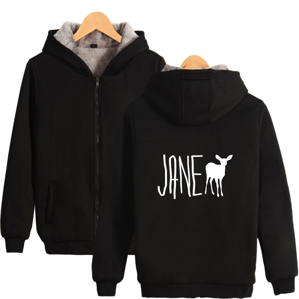 Image 2 - Game Life is Strange Thick Warm Sweatshirt With Hat Whatif Print Hoodie Winter Life is Strange Max Caulfield Thick Hoodie-in Hoodies & Sweatshirts from Men's Clothing