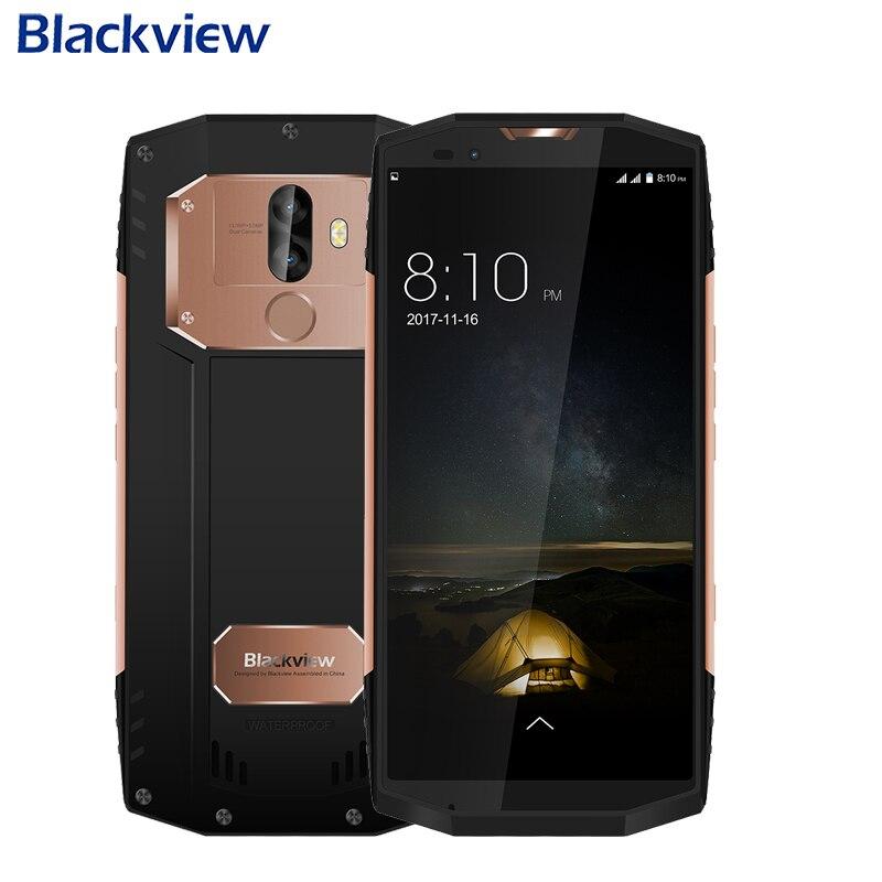 "Original Blackview BV9000 IP68 Waterproof Cell Phone 5.7"" Full Screen 4GB+64GB MTK6757CD Octa Core Android 7.1 Smartphone"