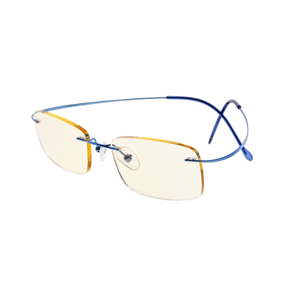 709f8b499f78 CG1508 Eyekepper Titanium Rimless Orange Tinted Lenses Computer Reading  Glasses Readers Women -in Reading Glasses from Apparel Accessories on  Aliexpress.com ...