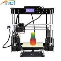 Promotion 3D Printer Anet A8 A6 A3S Reprap Prusa I3 Large Desktop 3D Printer With Aluminum
