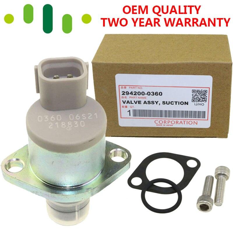 1460a037 294009-0260 294009-0360 válvula scv de controle de sucção de pressão da bomba de combustível diesel para mitsubishi ford mazda 3 5 6 2.0 cx