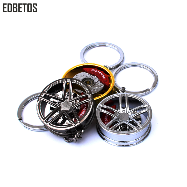 五边轮 Car Wheel Rim Keychain 5