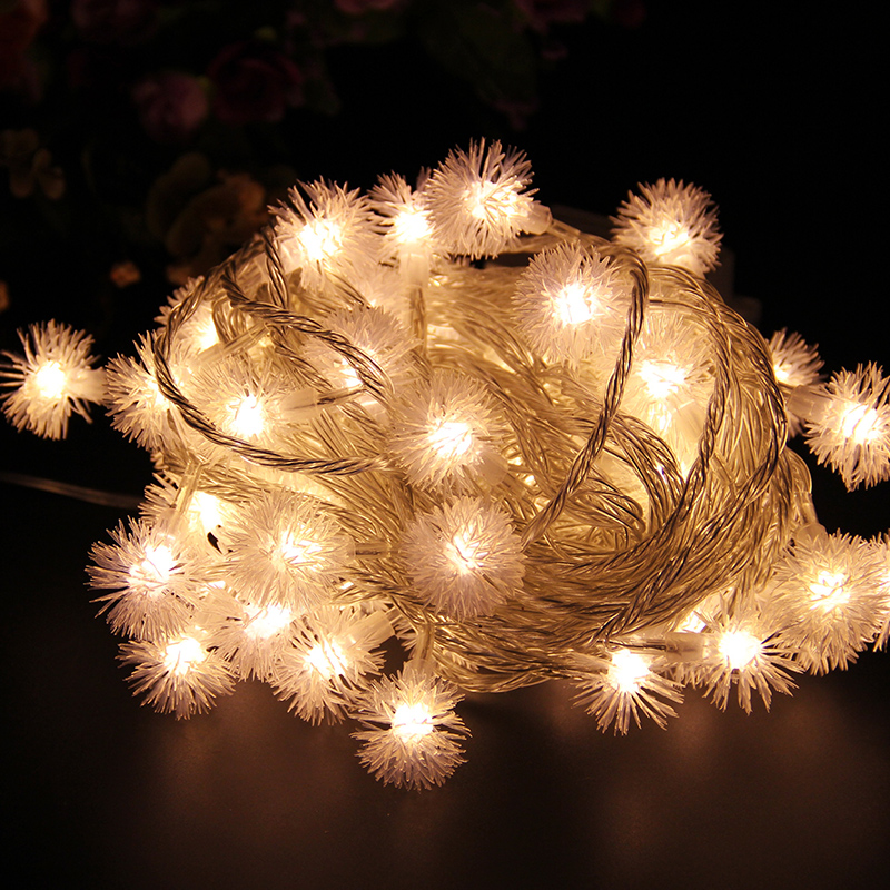 Snowball Luminarias10M 100 SMD LED Christmas Lights Wedding Party Garden  Decoracao Fairy Light EU UK US AU Plug Cadenas Liderads-in Holiday Lighting  from ... - Snowball Luminarias10M 100 SMD LED Christmas Lights Wedding Party