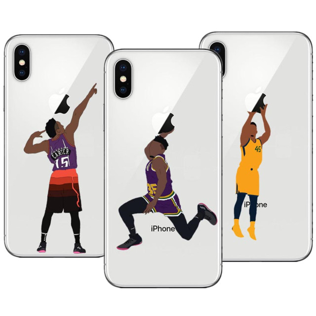 NBA Basketball Donovan Mitchell Dunk Hard PC Phone Cases for Apple iPhone X  10 5 5S SE 6 6S Plus 7 XR XS Max 8 8Plus Bags Cover dc36ab5196a