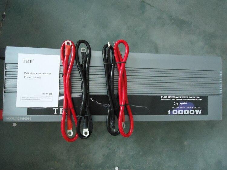 10000W Pure Sinus Solar Power Inverter Dc 12 V 24 V 48 V Naar Ac 220 V 110 V Converter Adapter Met Usb Lader Piekvermogen 20000W - 5