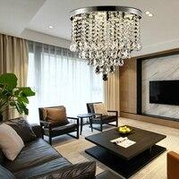 Modern minimalist creative Ceiling Light Plafonnier E27 LED 220V crystal ceiling lamp for living room bedroom restaurant study