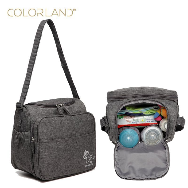 colorland baby bag large diaper bag organizer diapers maternity bags for mother messenger nappy. Black Bedroom Furniture Sets. Home Design Ideas