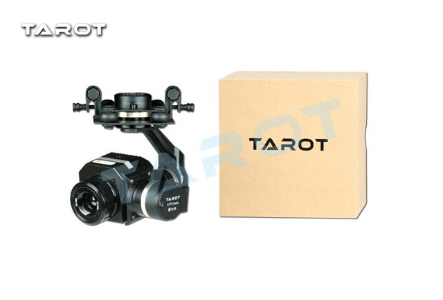 Tarot Metal Efficient FLIR Thermal Imaging Gimbal Camera 3 Axis CNC Gimbal for Flir VUE PRO 320 640PRO TL03FLIR-in Aerial Gimbal from Consumer Electronics