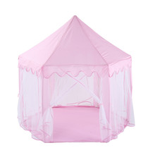 Baby Play Tent Portable Folding Prince Princess Children Castle House Kid Gift Outdoor Beach Toys For Kids Wigwam