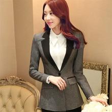 Fall  New European And American Slim Fashion Casual Business Blazer Suit Jacket Coat Women Work Wear Outwear C262