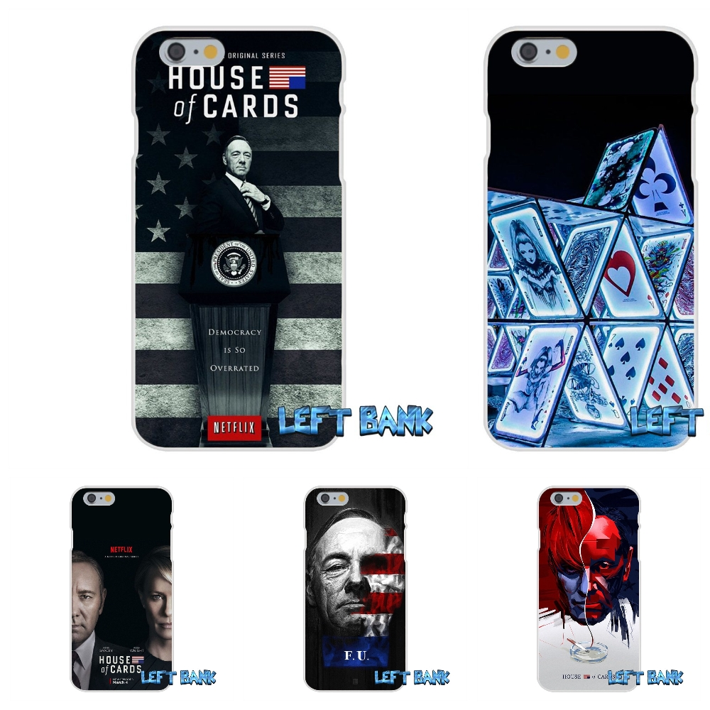 House of Cards Soft Silicone TPU Transparent Cover Case For Samsung Galaxy A3 A5 A7 J1 J2 J3 J5 J7 2016 2017