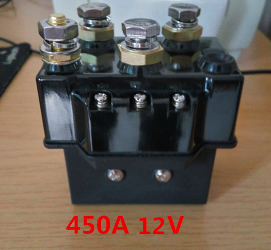 цена на 24V12V coil dc relay 12000 pounds voltage control protective electric contactor for electrical winch good quality Winch relay